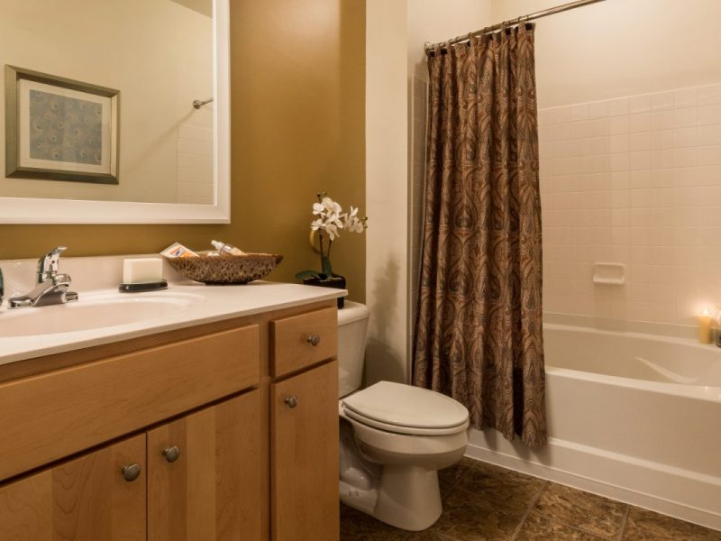 TGM Creekside Village Apartments Bathroom