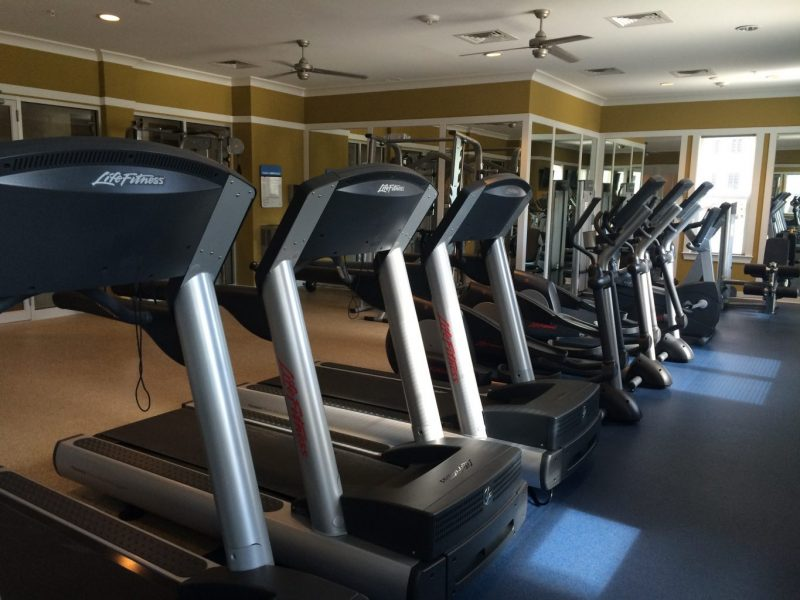 TGM Creekside Village Apartments Fitness Gym 2